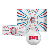 Callaway Supersoft Golf Balls 12/pkg-Block SMU