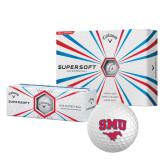 Callaway Supersoft Golf Balls 12/pkg-SMU w/Mustang