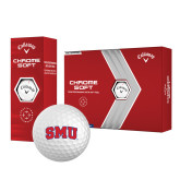 Callaway Chrome Soft Golf Balls 12/pkg-Block SMU