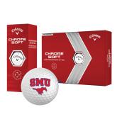 Callaway Chrome Soft Golf Balls 12/pkg-SMU w/Mustang