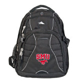 High Sierra Swerve Compu Backpack-SMU w/Mustang