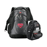 Wenger Swiss Army Tech Charcoal Compu Backpack-SMU w/Mustang