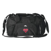 High Sierra Black Switch Blade Duffel-SMU w/Mustang