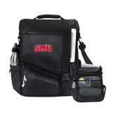 Momentum Black Computer Messenger Bag-Block SMU