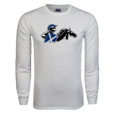 White Long Sleeve T Shirt-Knight