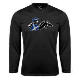 Performance Black Longsleeve Shirt-Knight