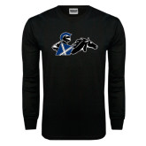 Black Long Sleeve TShirt-Knight