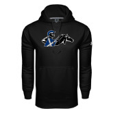 Under Armour Black Performance Sweats Team Hoodie-Knight