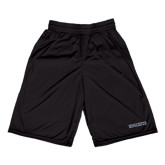 Russell Performance Black 9 Inch Short w/Pockets-Knights Word Mark