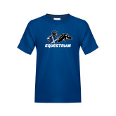 Youth Royal T Shirt-Equestrian