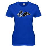 Ladies Royal T Shirt-Knight