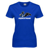 Ladies Royal T Shirt-Equestrian