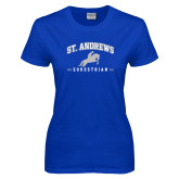 Ladies Royal T Shirt-St. Andrews Arched Equestrian