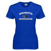 Ladies Royal T Shirt-Knights Arched Equestrian