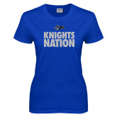 Ladies Royal T Shirt-Knights Nation