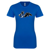 Next Level Ladies SoftStyle Junior Fitted Royal Tee-Knight