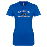 Next Level Ladies SoftStyle Junior Fitted Royal Tee-Knights Arched Equestrian