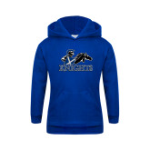 Youth Royal Fleece Hoodie-Primary Logo