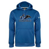Under Armour Royal Performance Sweats Team Hoodie-Primary Logo