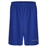 Russell Performance Royal 9 Inch Short w/Pockets-Knights Word Mark
