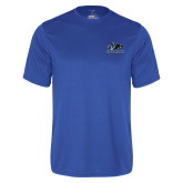 Syntrel Performance Royal Tee-Primary Logo