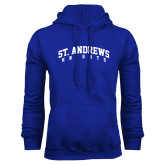 Royal Fleece Hoodie-St. Andrews Knights Arched