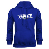 Royal Fleece Hoodie-Knights Slanted w/ Knight