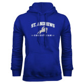 Royal Fleece Hoodie-St. Andrews Arched Equestrian