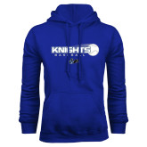 Royal Fleece Hoodie-Knights Baseball w/ Flying Ball