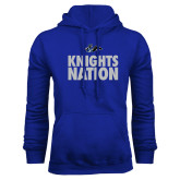 Royal Fleece Hoodie-Knights Nation
