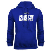 Royal Fleece Hoodie-Fear The Knights