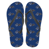 Full Color Flip Flops-Knight