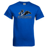 Royal T Shirt-Primary Logo Distressed