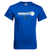 Royal T Shirt-Knights Baseball w/ Flying Ball
