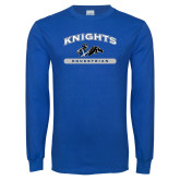 Royal Long Sleeve T Shirt-Knights Arched Equestrian