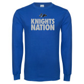 Royal Long Sleeve T Shirt-Knights Nation