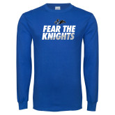 Royal Long Sleeve T Shirt-Fear The Knights