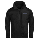 Black Charger Jacket-Knights Word Mark