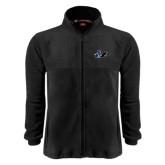 Fleece Full Zip Black Jacket-Knight