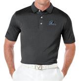 Callaway Black Jacquard Polo-Primary Logo