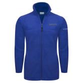 Columbia Full Zip Royal Fleece Jacket-Knights Word Mark