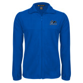 Fleece Full Zip Royal Jacket-Primary Logo