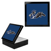 Ebony Black Accessory Box With 6 x 6 Tile-Knight