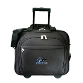 Embassy Plus Rolling Black Compu Brief-Primary Logo