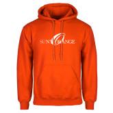 Orange Fleece Hoodie-Official Artwork