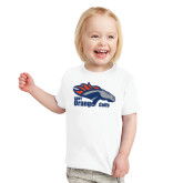 Toddler White T Shirt-Primary Logo