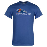 Royal T Shirt-SUNY Orange Colt Logo