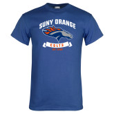 Royal T Shirt-SUNY Orange Colts Graphic