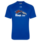 Under Armour Royal Tech Tee-Primary Logo