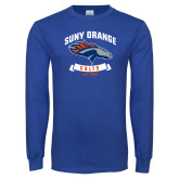 Royal Long Sleeve T Shirt-SUNY Orange Colts Graphic